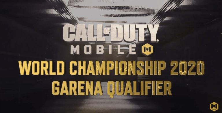 COD Mobile World Championship Garena Qualifiers