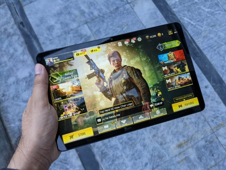 COD Mobile on Huawei Tablet