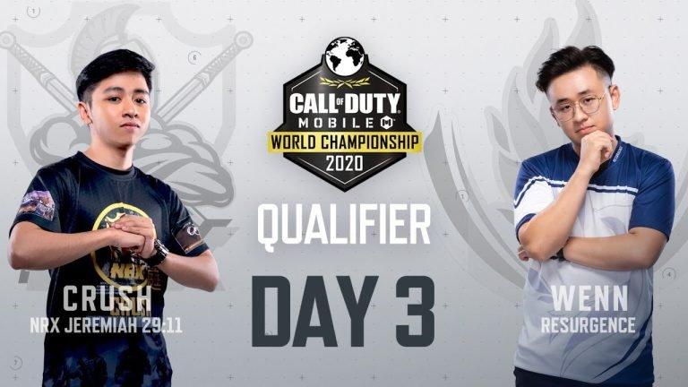 COD Mobile World Championship 2020 Garena Qualifiers day 3