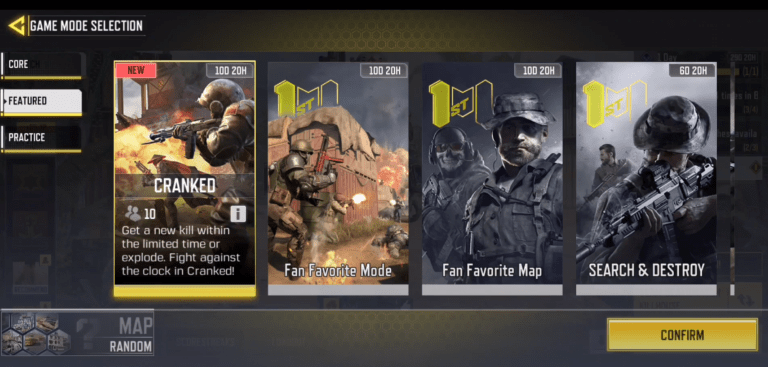 Cranked Mode in Call of Duty: Mobile