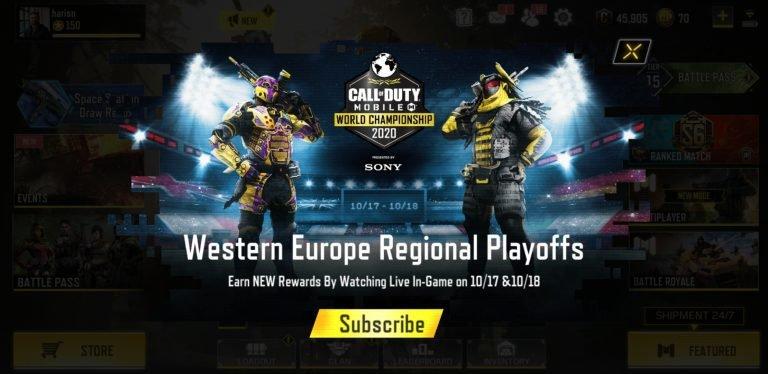 Western Europe Regional Playoffs | COD Mobile World Championship 2020
