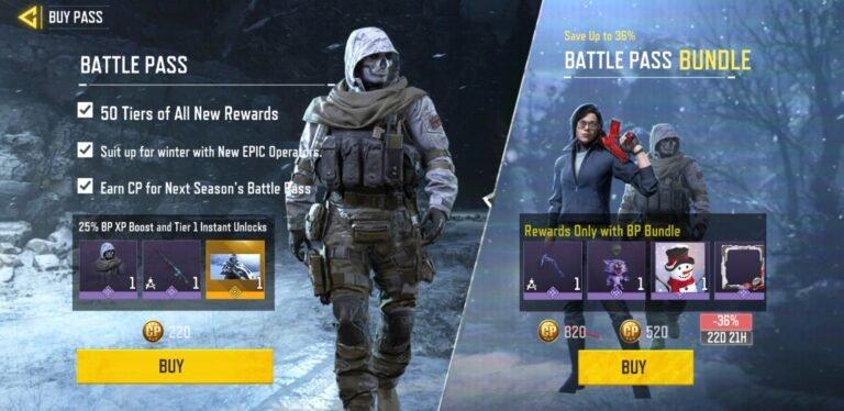 Call of Duty Mobile Season 13 Battle Pass