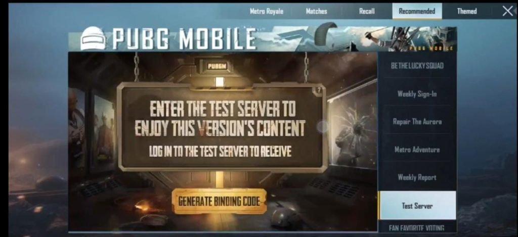 PUBG Mobile - Events