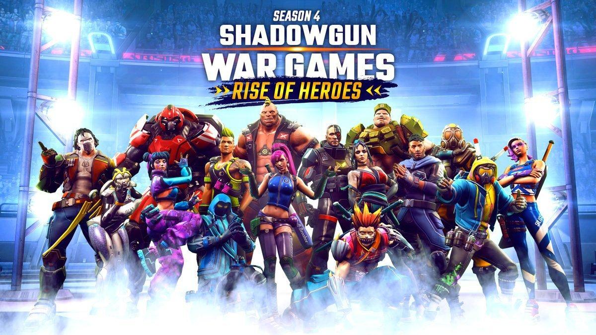 Shadowgun War Games Season 4: Rise of Heroes patch notes