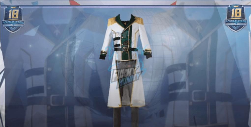 PUBG Mobile Season 18 Royale Pass leaks   Outfit Skin