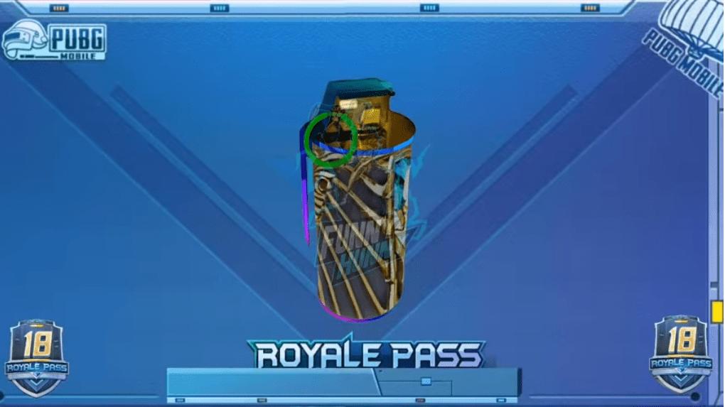 PUBG Mobile Season 18 Royale Pass leaks   Smoke Grenade