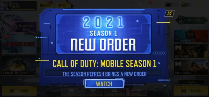 Call of Duty: Mobile Season 1 New Order