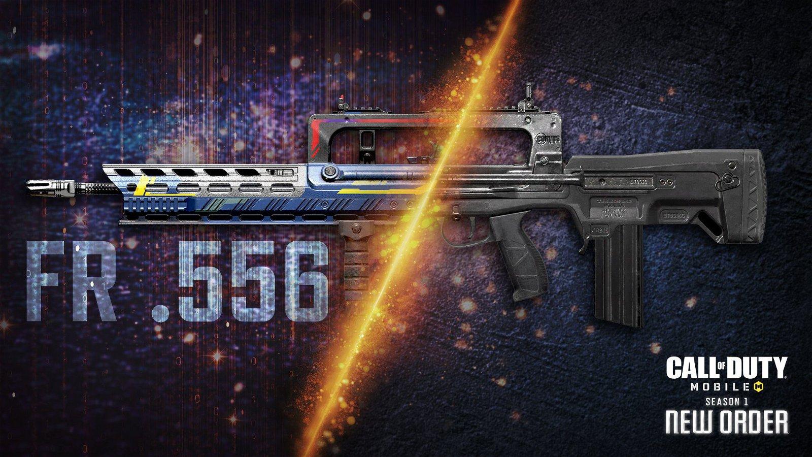 FR .556 - Assault Rift in COD Mobile