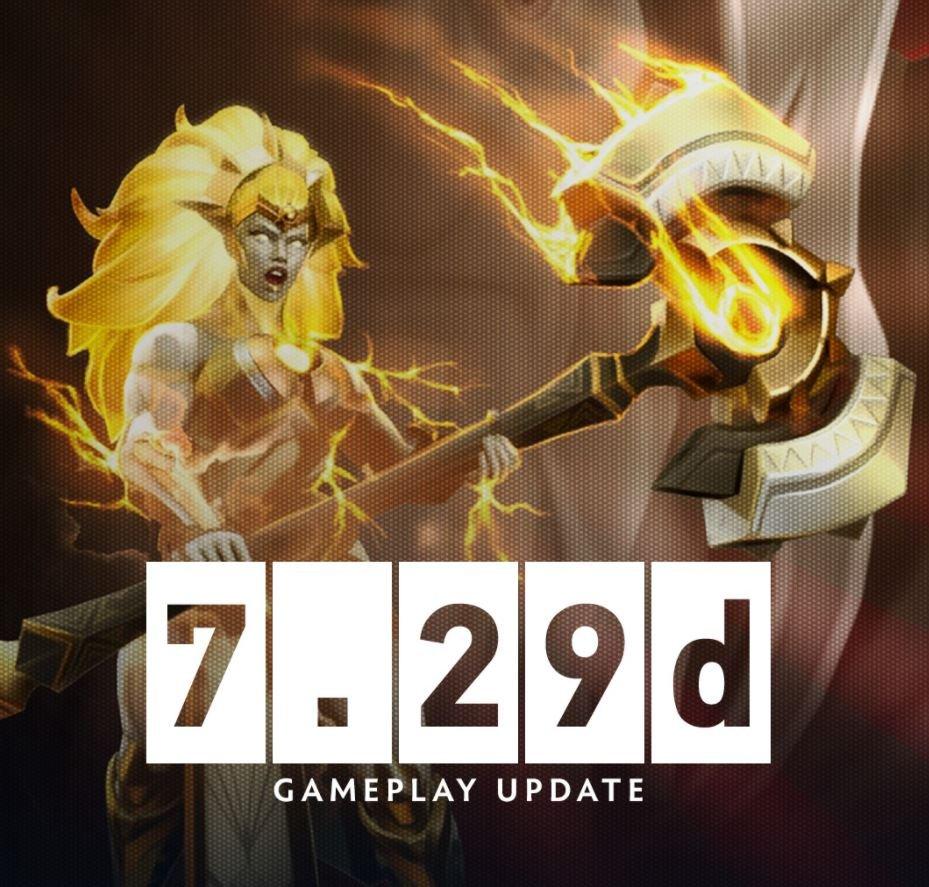 Dota 2 Update 7.29d