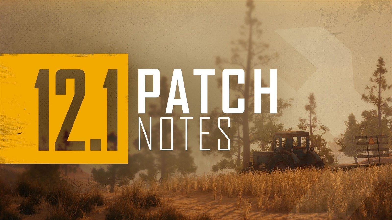 PUBG Update 12.1