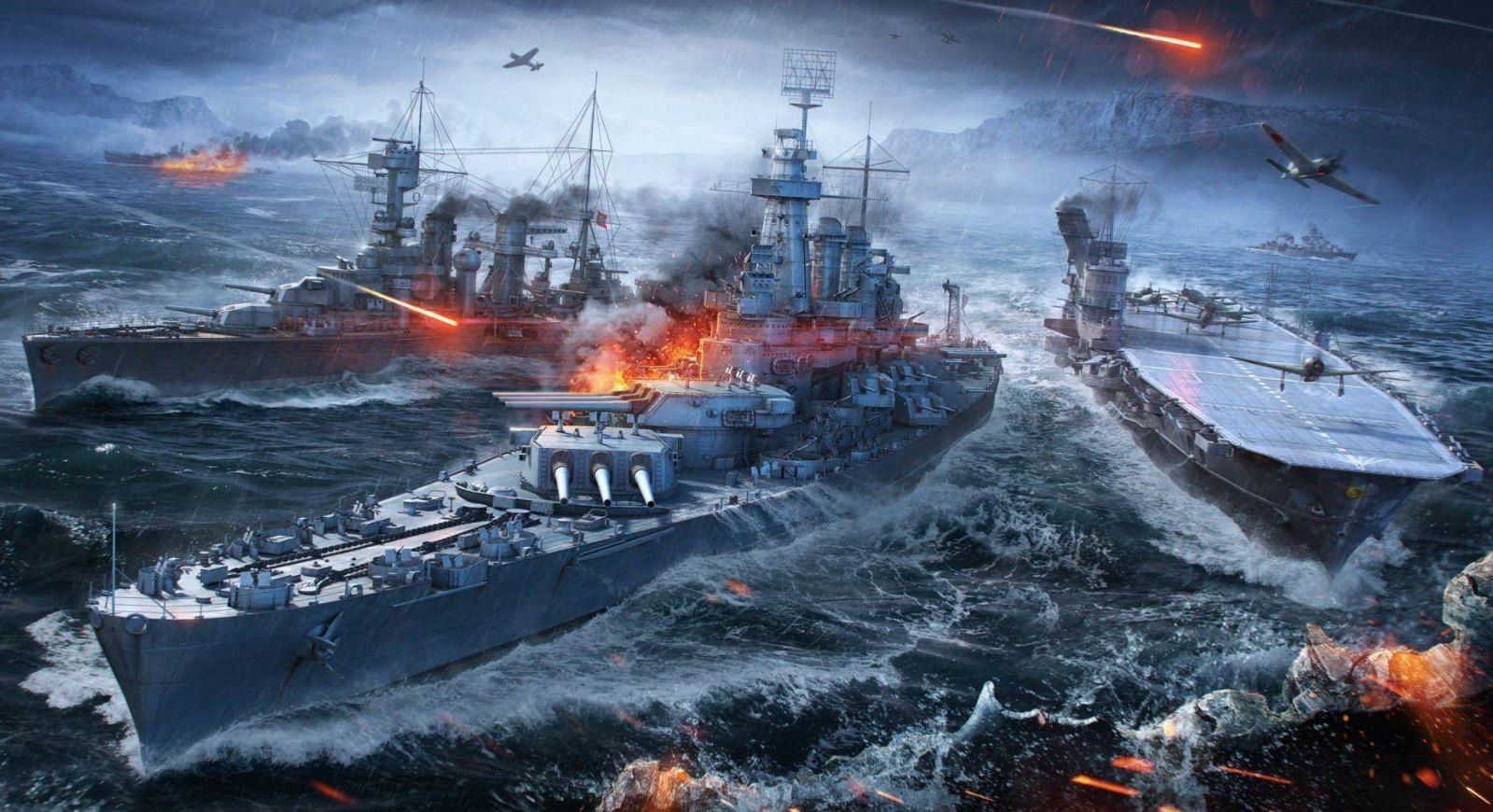 World of Warships Update 0.10.6
