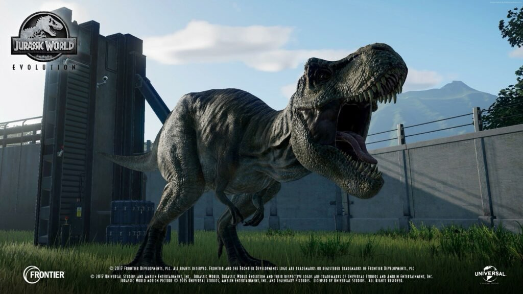 Jurassic World Evolution Wallpaper