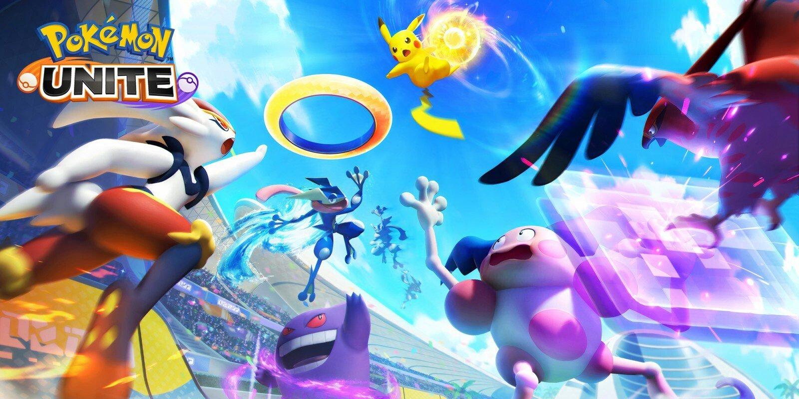 Pokemon Unite Update 1.2