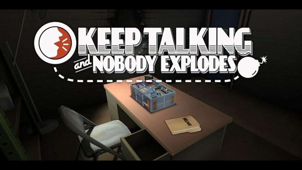 Keep talking and nobody explodes wallpaper