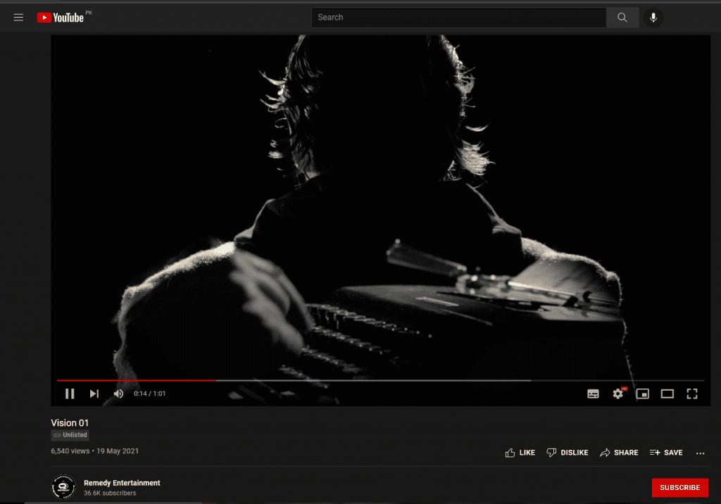 Alan Wake Remastered QR Code