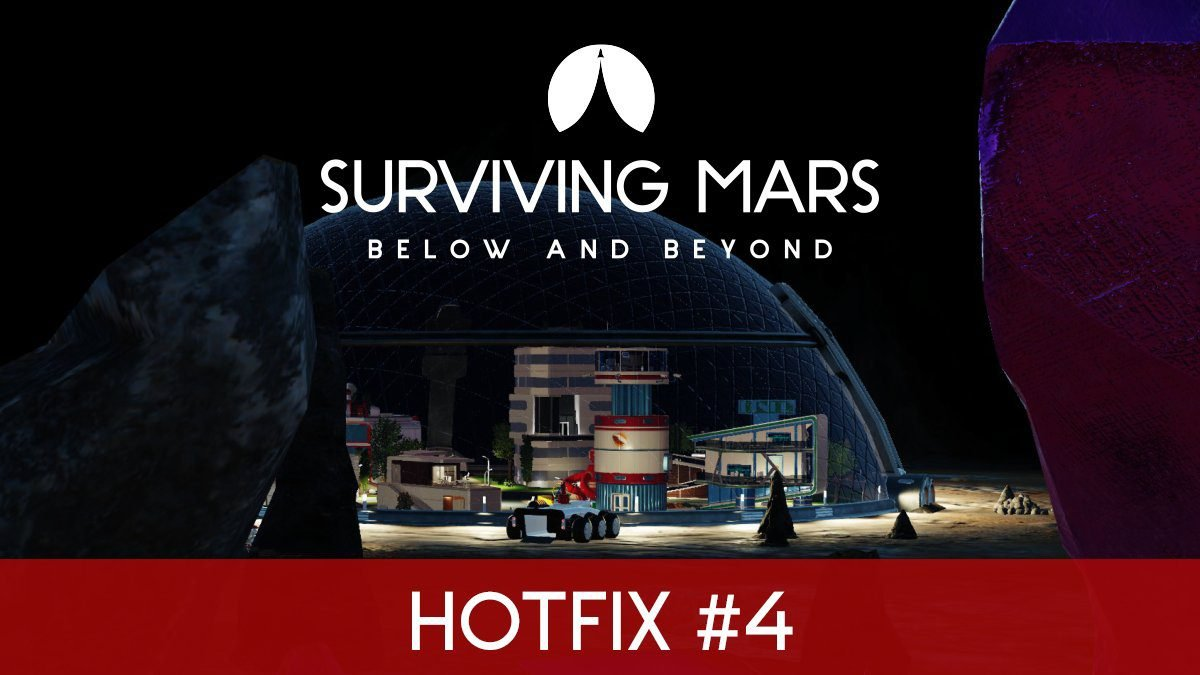 Surviving Mars Update 1.30