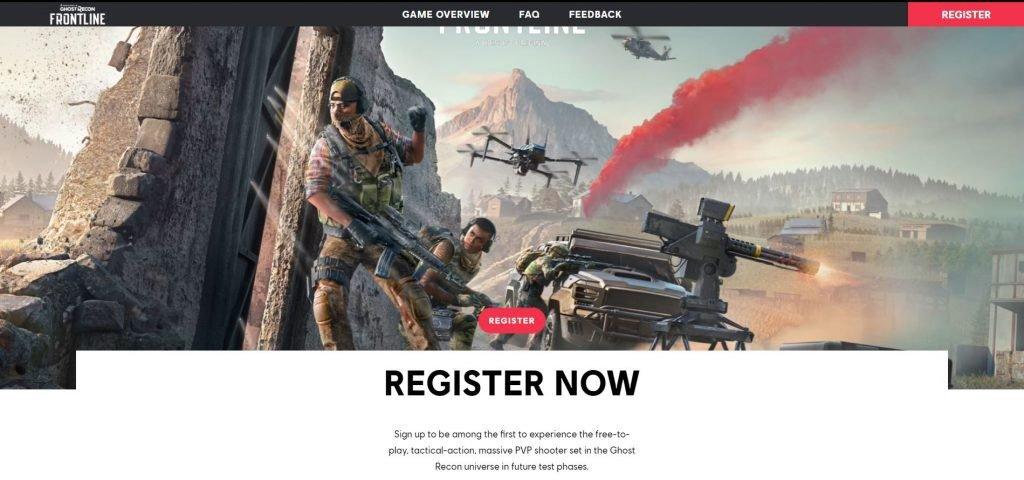 ghost recon registration