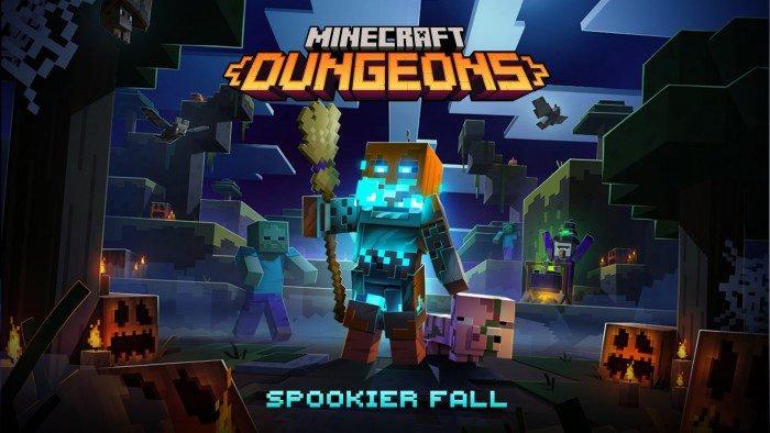 minecraft dungeons spokier fall